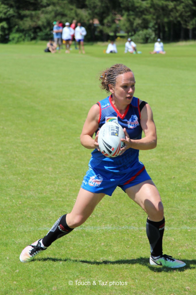 Cécile Magne - Touch Rugby