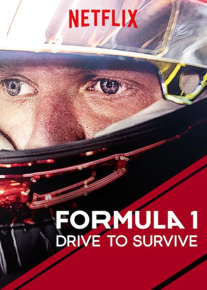 Affiche Netflix de la série Formula One