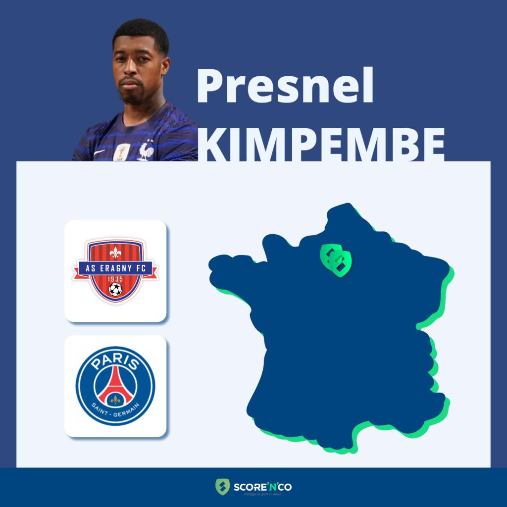 Parcours des clubs en France du joueur Presnel Kimpembe