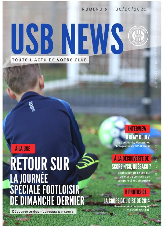 Couverture de l'USB News (US Breteil)